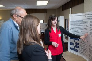 1924,03-23-18,Graduate poster session in the william pitt union on the 5th floor for arts and sciences